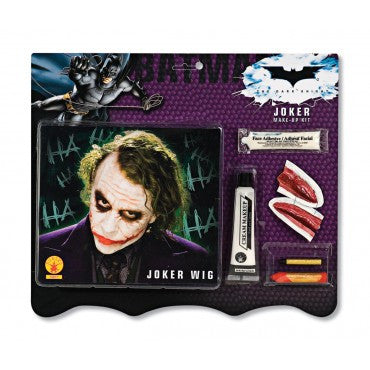 Batman Joker Deluxe Makeup Kit and Wig