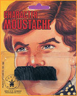 Traditional Black Moustache