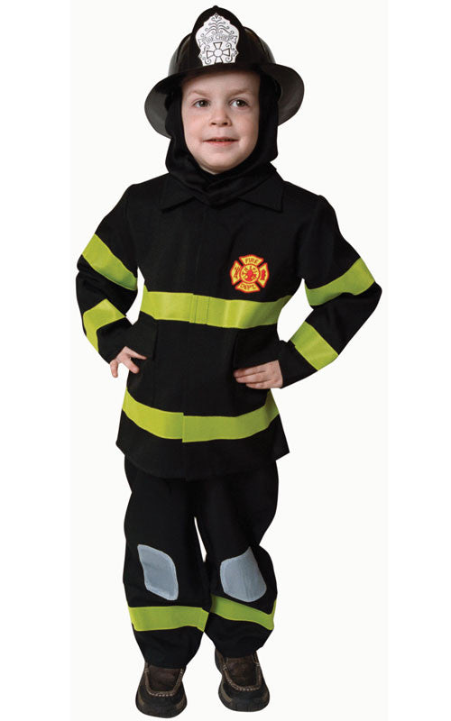 Kids/Toddlers Deluxe Fire Fighter Costume