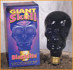 Discount Halloween Lights Skull Black Lite Bulb