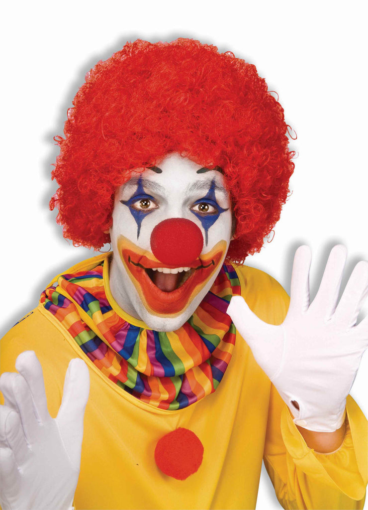 Clown Wigs Red Afro Clown Costume Wigs