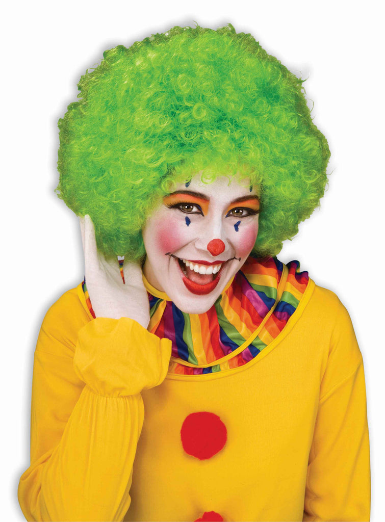 Costume Wigs Clown Wigs Green Afro Wig