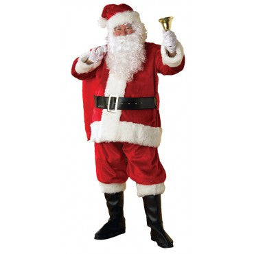 Mens New Regency Plush Santa Suit