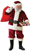 Mens Crimson Regency Santa Suit