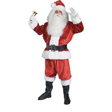 Mens Crimson Imperial Santa Suit