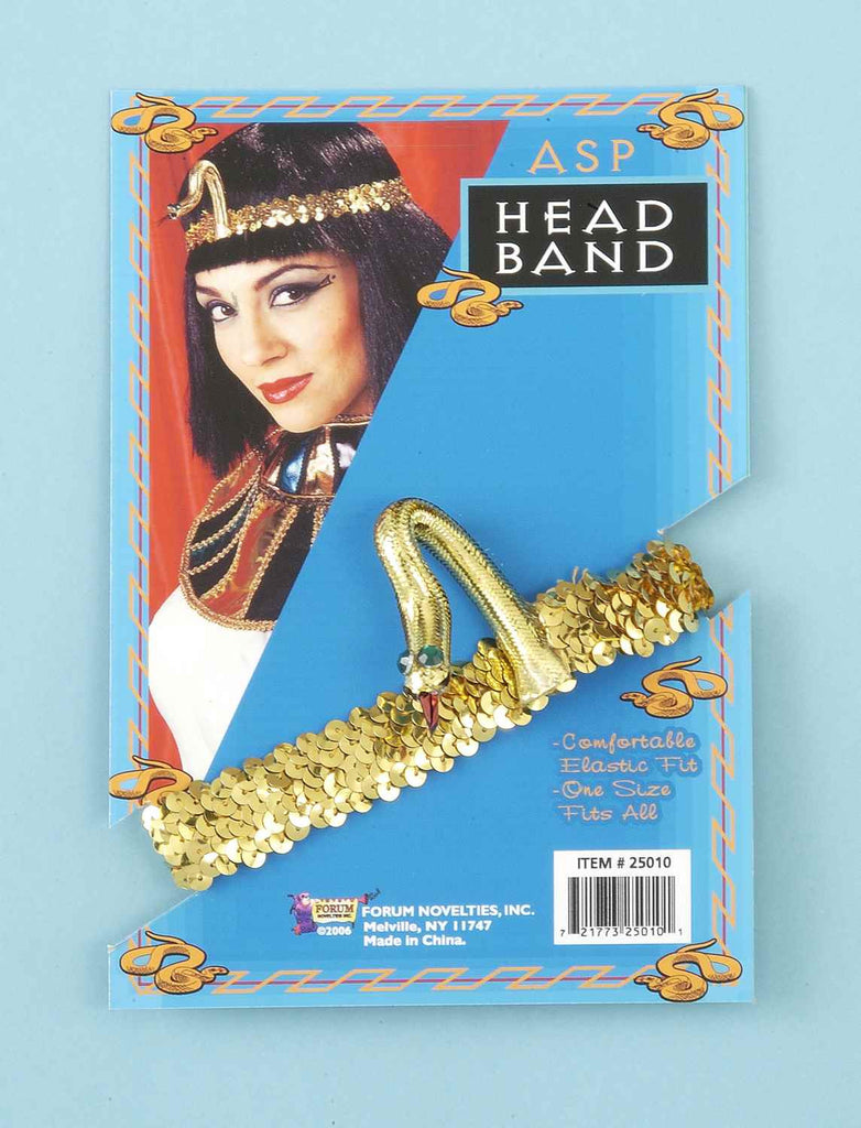 Egyptian Snake Headband