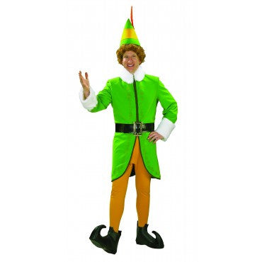 Mens Deluxe Buddy the Elf Costume