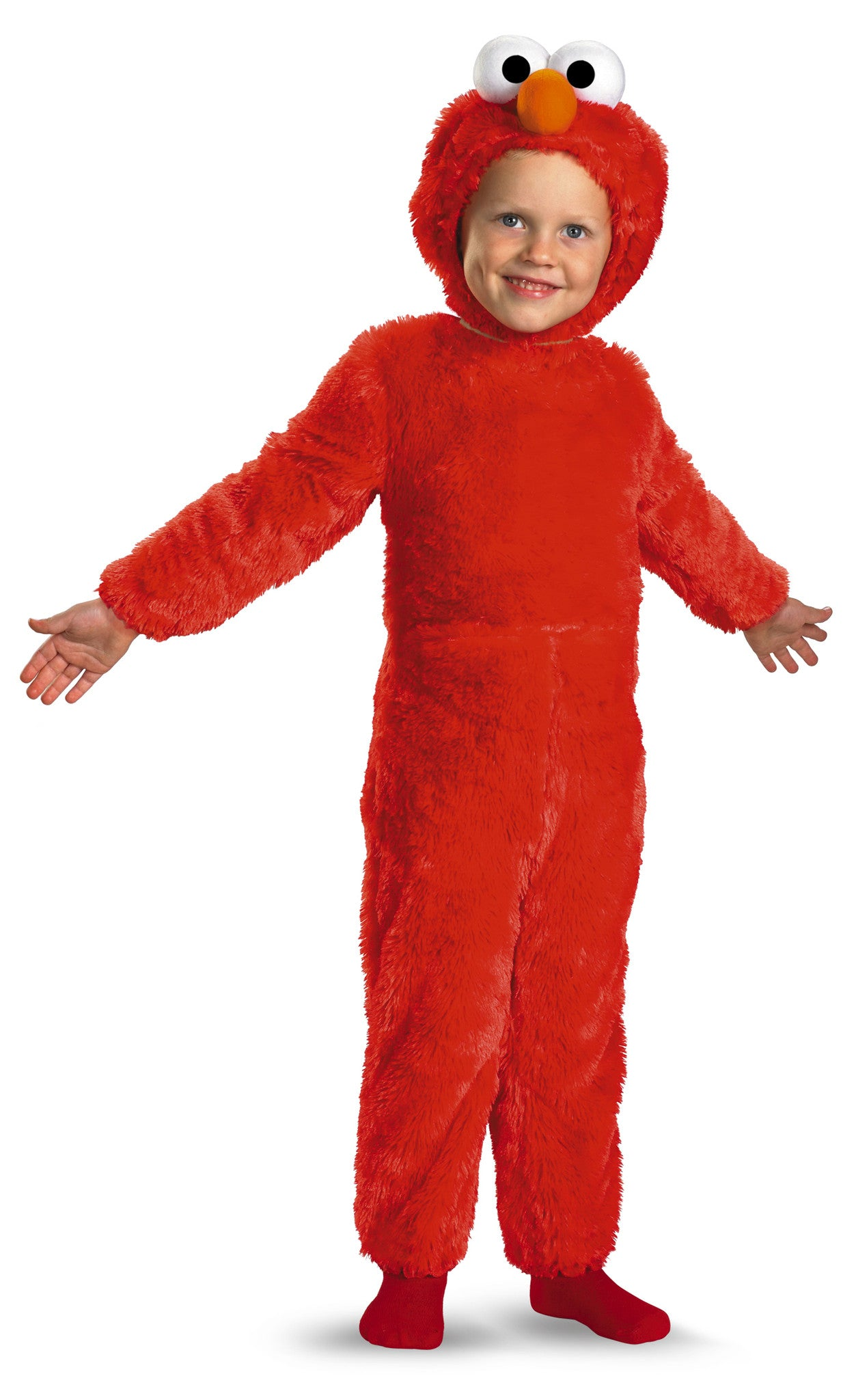 Boys Plush Elmo Costume