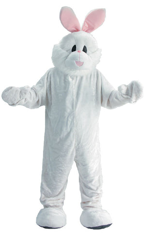 Adults White Bunny Mascot Costume