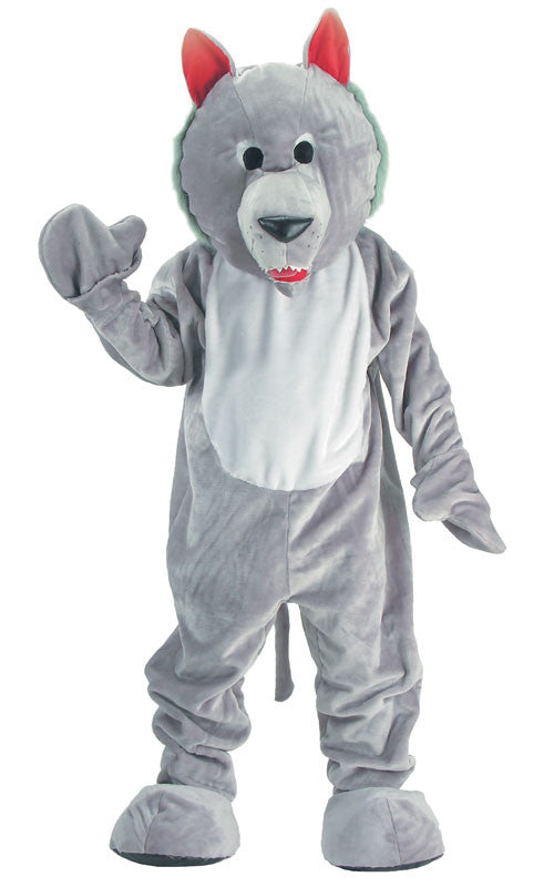 Adults Hungry Wolf Mascot Costume