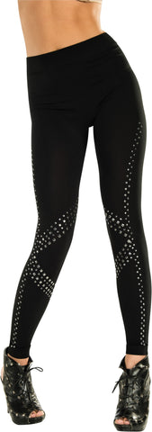 Adults Rockstar Studs Leggings