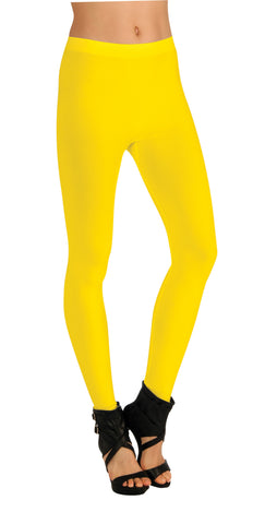 Adults Yellow Leggings