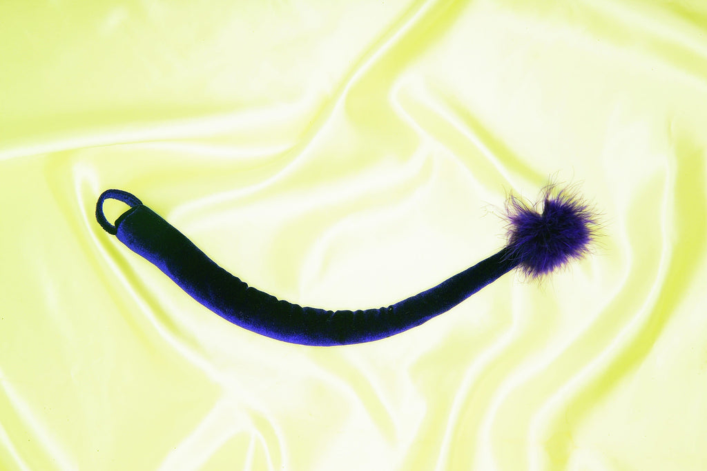 Velvet Purple Cat Tail