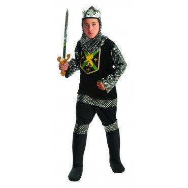 Boys Renaissance Warrior King Costume