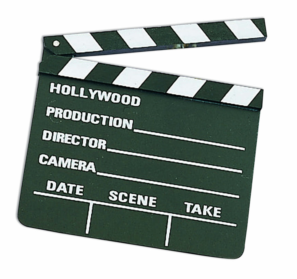 Hollywood Movie Clapper Board
