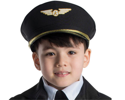 Navy Blue Pilot Hat