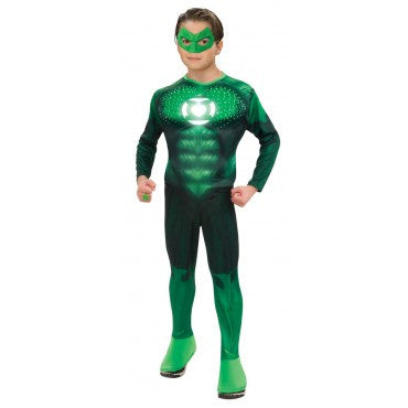 Teens Green Lantern Deluxe Light Up Hal Jordan Costume