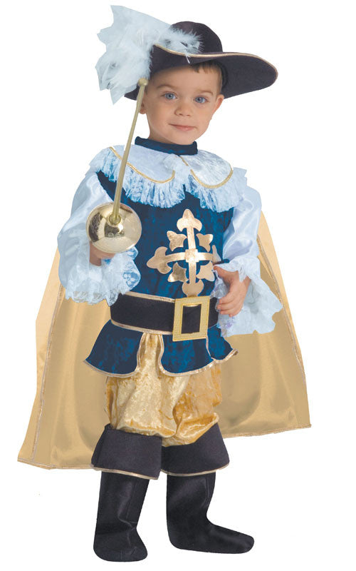 Boys Deluxe Musketeer Costume