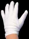 Kids White Gloves