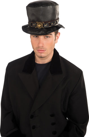 Belted Steam Punk Hat