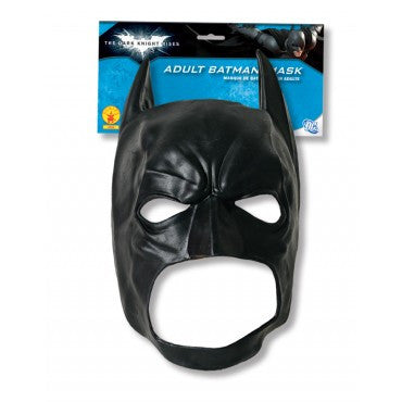 Black 3/4 Batman Mask