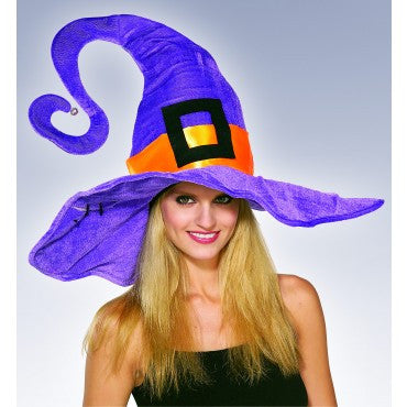 Funky Purple Witch Hat
