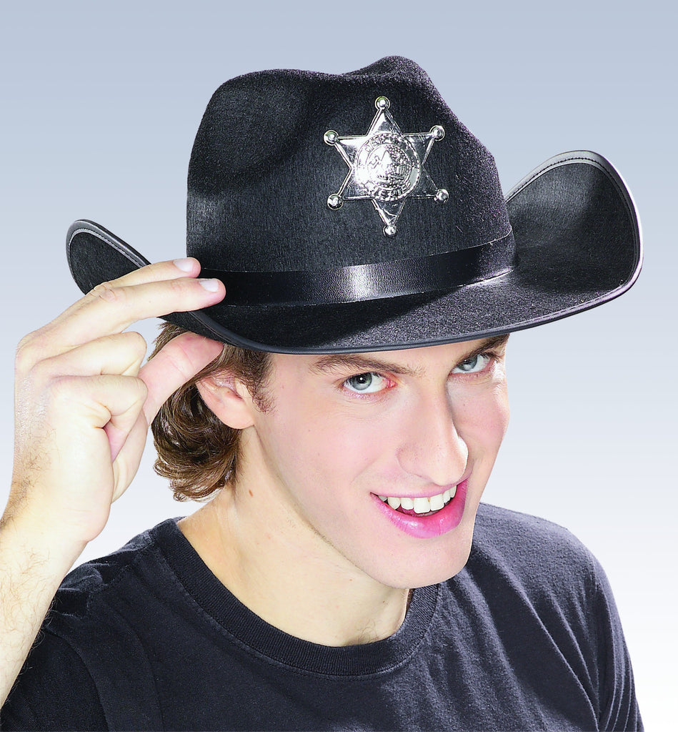 Black Sheriff Hat