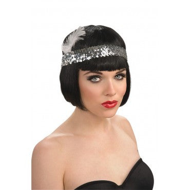 Flapper Sequin Headband - Various Colors