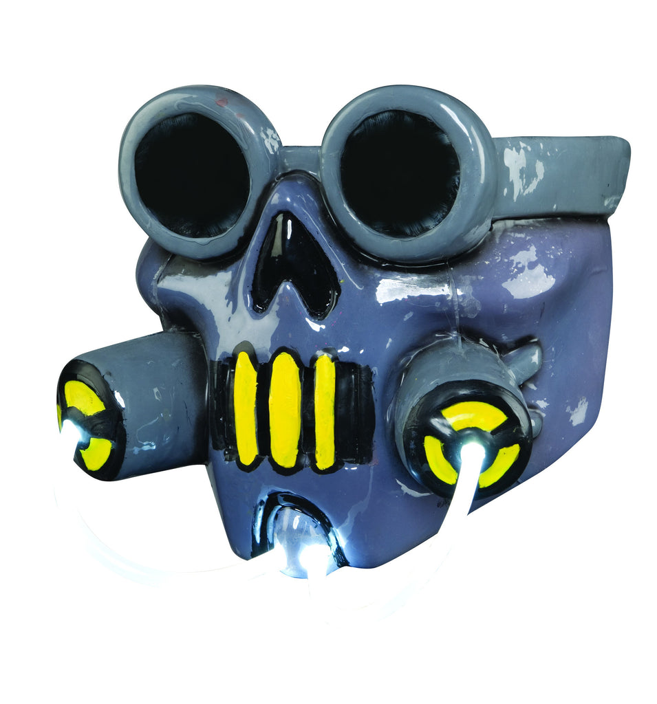 Toxic Waste Light Up Mask