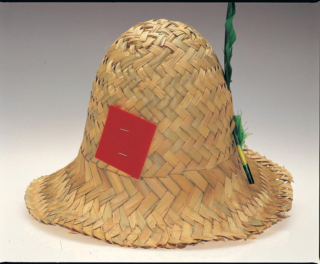 Straw Hillbilly Hat