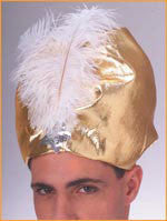 Gold Lame' Turban