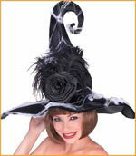 Rose Witch Hat