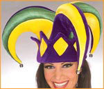 Mardi Gras Royal Jester Hat