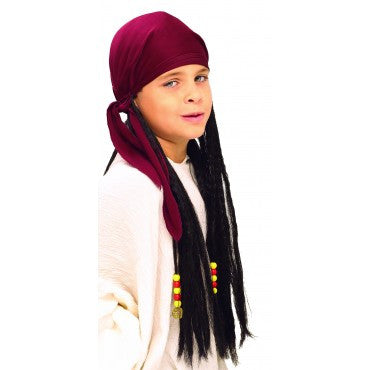 Kids Pirate Dreadlocks Wig