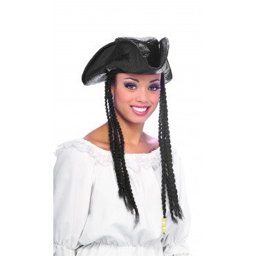 Pirate Hat with Braids