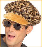 Leopard Disco Hat and Sunglasses