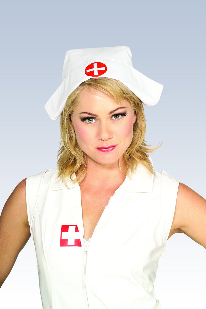 White Nurse Headpiece