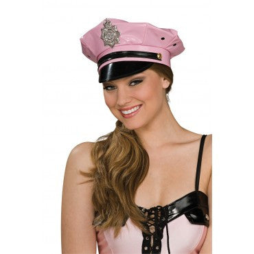 Pink Police Hat