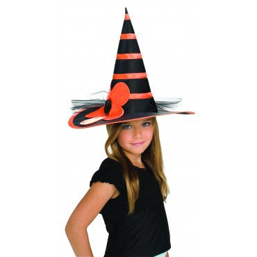 Kids Sunflower Witch Hat