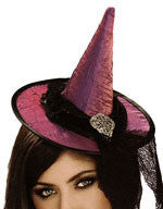 Purple Mini Witch Hat