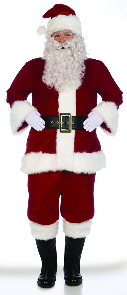 Santa Suits Super Deluxe Velvet Santa Suit