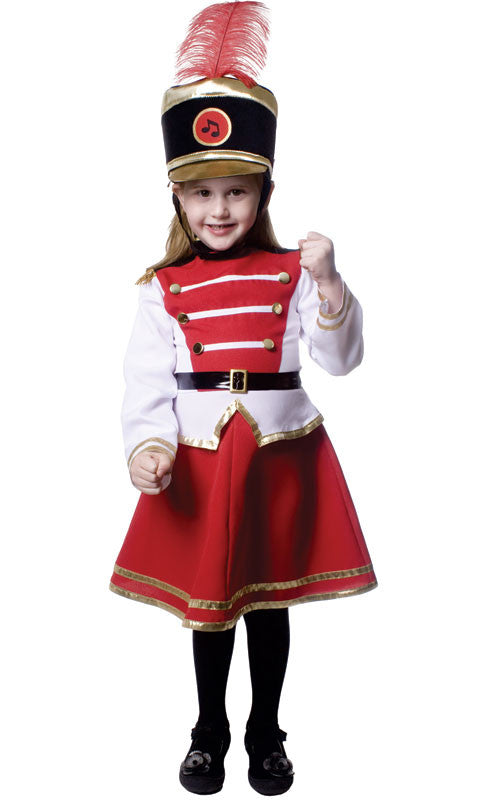 Girls Drum Majorette Costume
