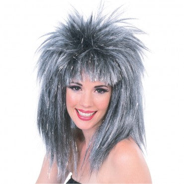 Glitter Diva Tinsel Wig - Various Colors