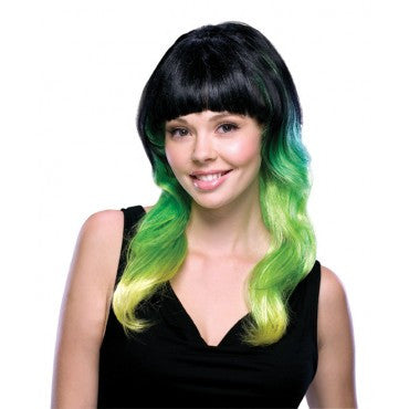 Lime Delight Wig