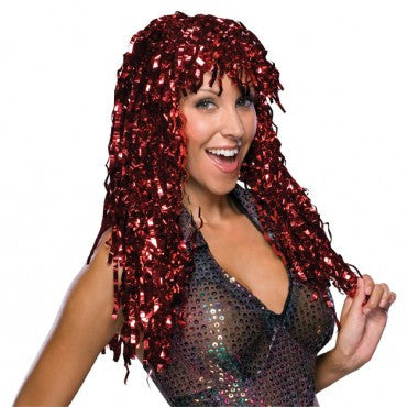 Tinsel Goddess Wig - Various Colors