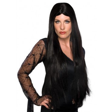 Extra Long Witch or Vampira Wig - Various Colors