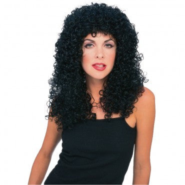 Voluminous Curly Wig - Various Colors