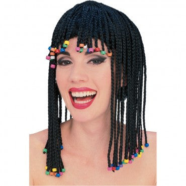 Caribbean Cornrow Wig - Various Colors