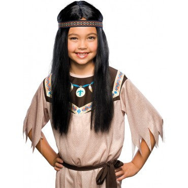 Kids Indian Maiden Wig