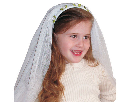 Girls Bride Veil